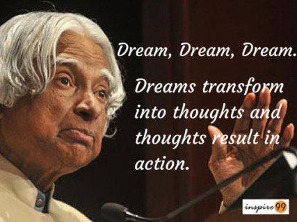 apj abdul kalam inspirational quotes in english pdf