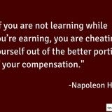 napoleon hill, napoleon hill quotes, napoleon hill quote on job