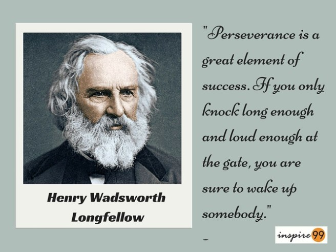 henry wadsworth quote perseverance, perseverance quote longfellow, perseverance quote henry longfellow, daily inspirational quote
