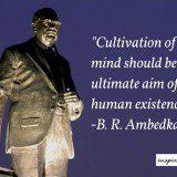 Ambedkar quotes, ambedkar purpose of life quote, purpose of life quote, human life quote, ambedkar inspirational quotes