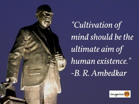 5 Brilliant Quotes And Thoughts By Ambedkar – Ambedkar Quotes On Ambedkar Jayanti