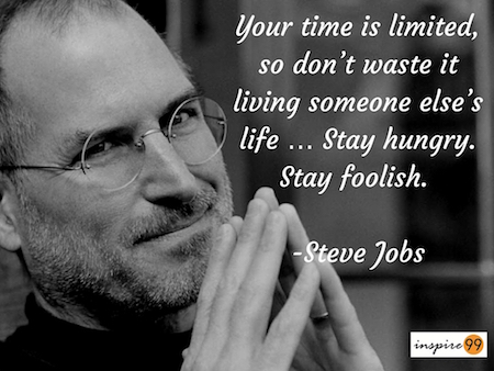 your time is limited dont waste it living someones life